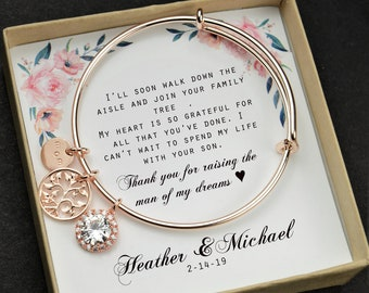 Mother Of The Groom Gift In Law Bride Wedding Future