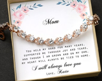 Gift for mom ,mother's wedding gift ,mom bracelet,Mother in law ,aunt gift ,Step mom,to my other Mom,Stepmother ,sister,daughter in law HALO