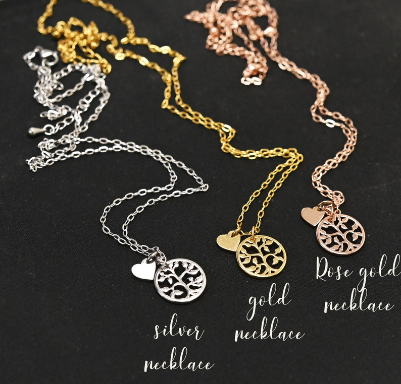 Tree of Life,Mother of the groom necklace Mother of the Bride Gift Wedding Gift Mother of the Groom Gift Mother in law Gift
