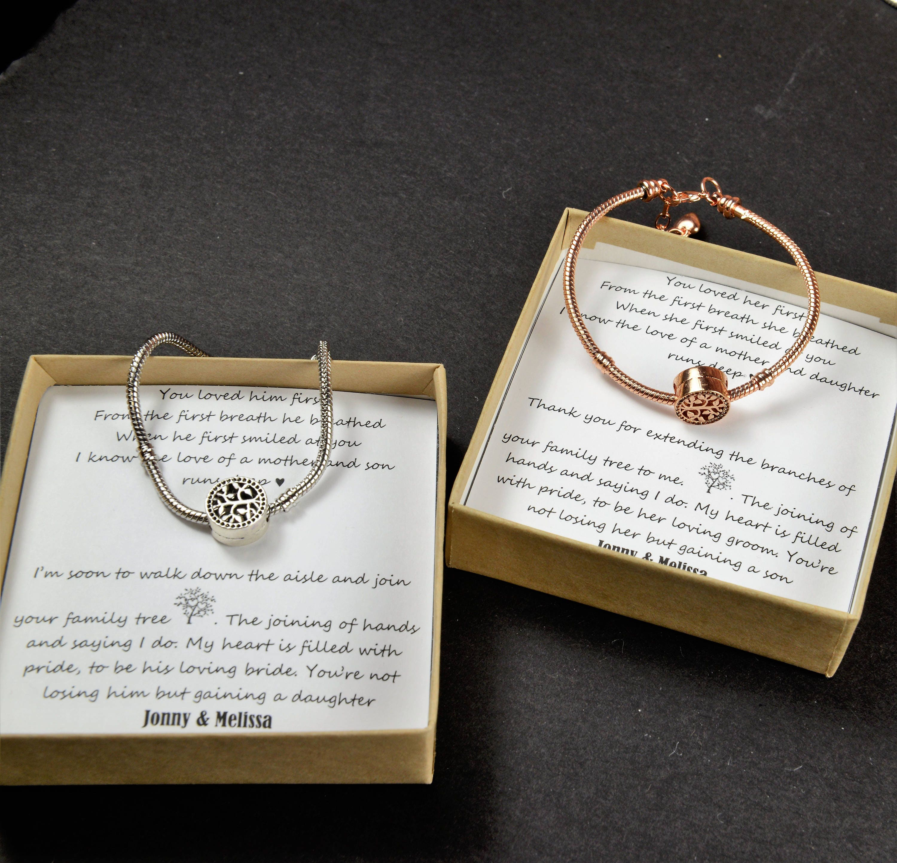 Mother Of The Groom Gift Bracelet From Bride From Son From Groom