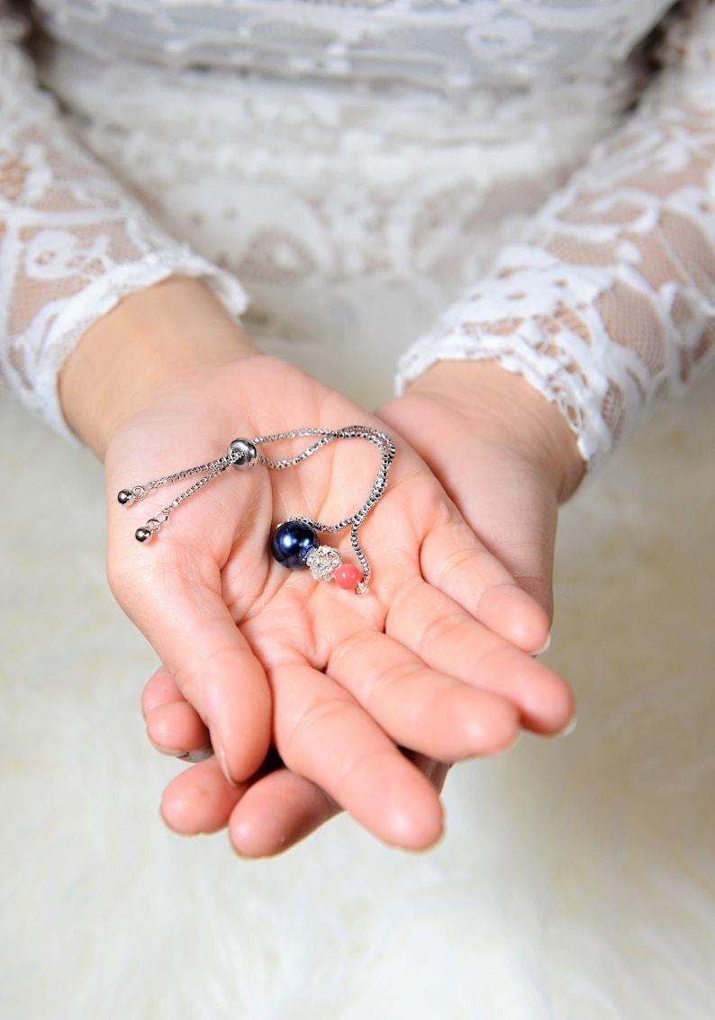 navy blue coral Wedding Jewelry Bridesmaid Earrings Jewelry Earrings Sapphire Navy Blue Gold Teardrop Bridal Earrings bridesmaid gift set