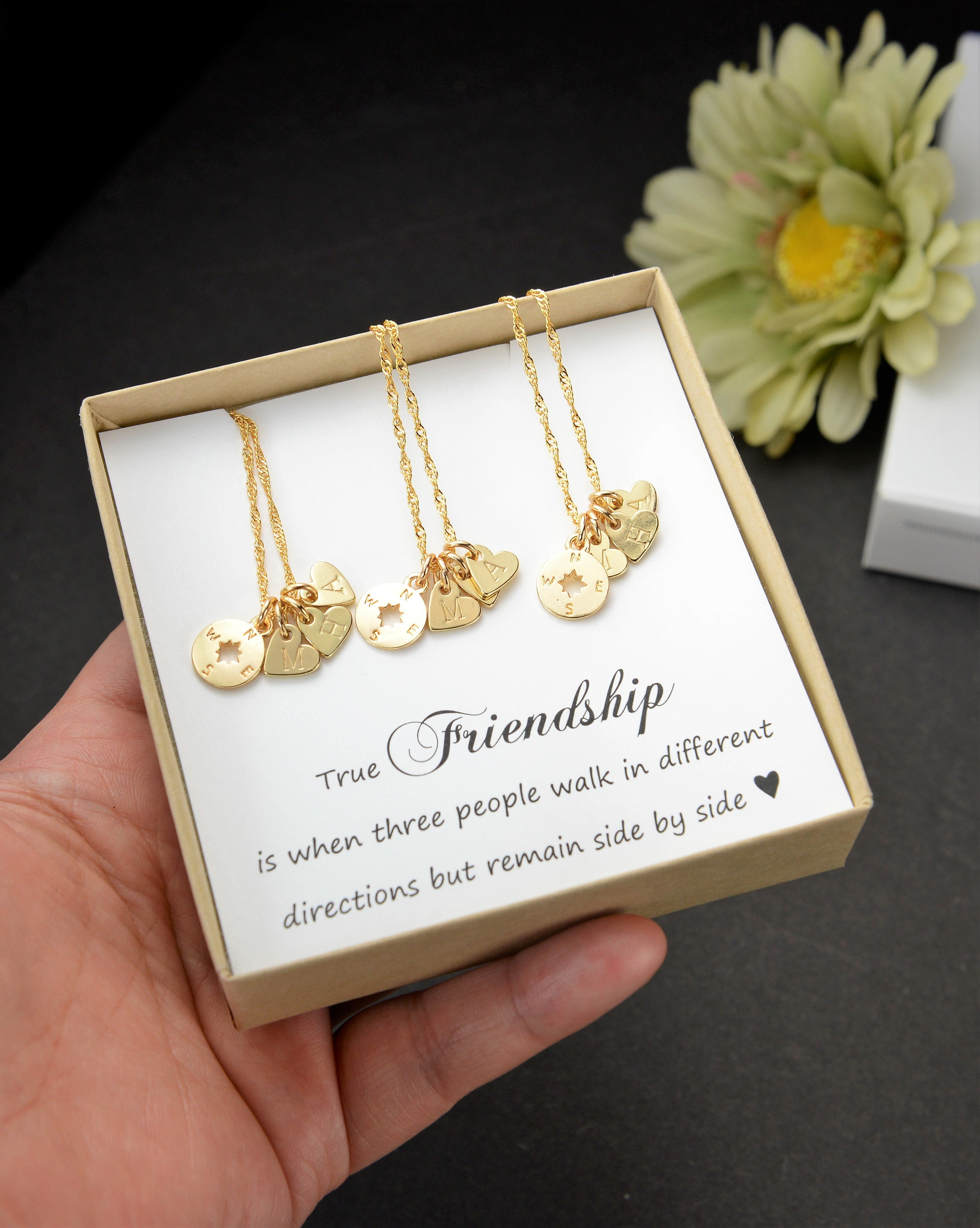 Gift For Mombest Friendgifts Sisterbirthday Giftsister In Lawsister JewelryCompass Necklace Sorority Giftmother Daughter Matching