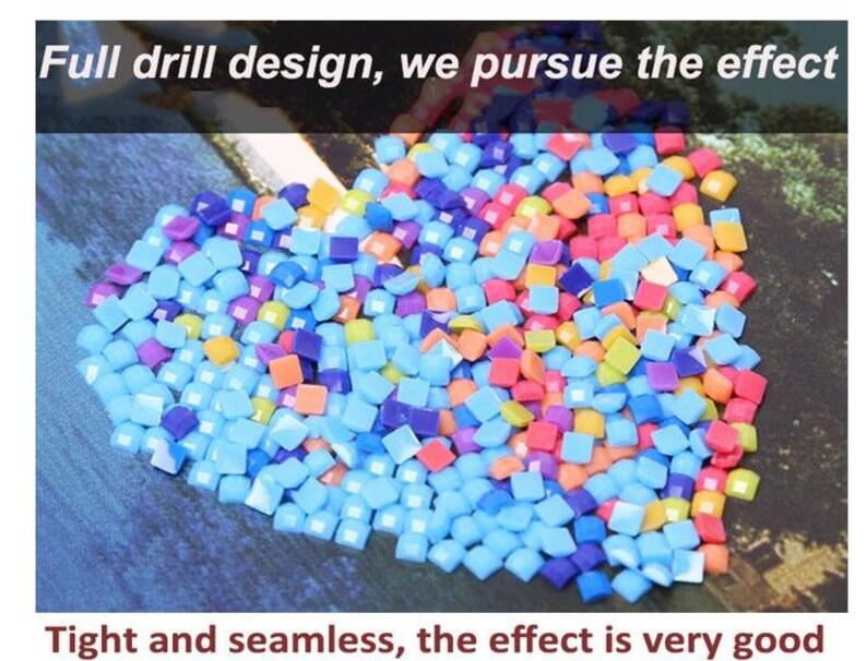 5D Diamond Painting Crystal Sticker Diyjia landscape Painting