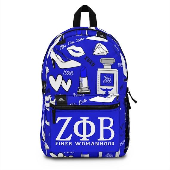 Zeta Phi Beta Backpack