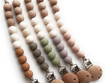 Neutral Pacifier Clip / Soother Chain
