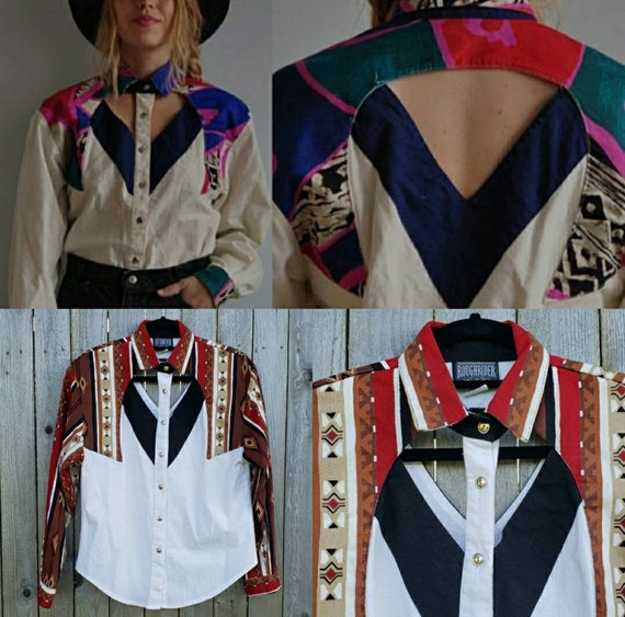 Vintage RoughRider by Circle T women's cut-out wes