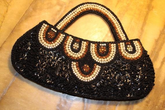 Beaded vintage dress purse