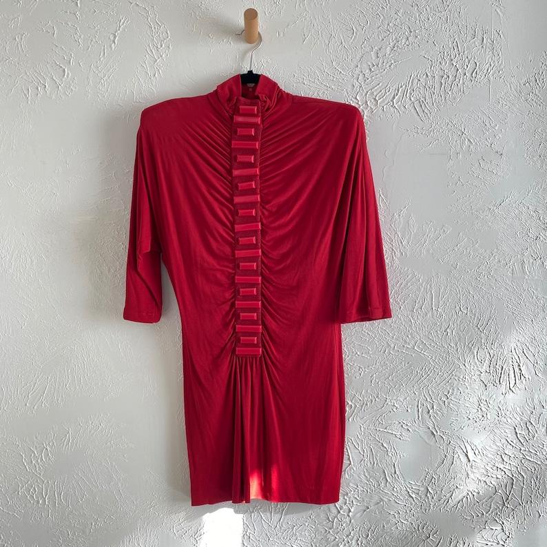 80s Callagan mini dress \u2022 avant garde