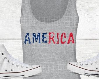 USA Flag Svg, Grunge Svg, Distressed Svg, USA Svg, Flag Svg, 4th of July Svg, America Svg, God Bless America Svg, Vector File, SVG, Dxf, Png