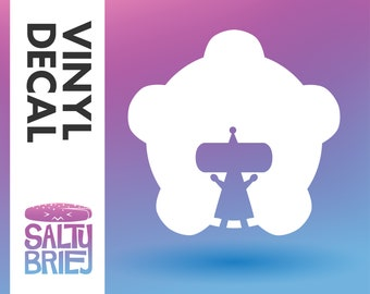 Beautiful Katamari Damacy forever little Prince King Cosmos Video Game Vinyl Decal - Salty Brie