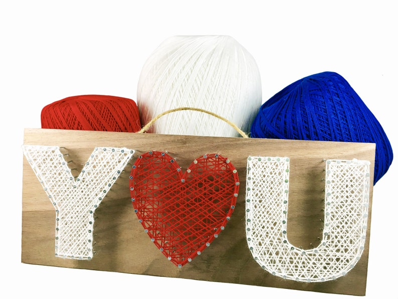 Valentine/'s Day Gift Teen Crafts Adult Crafts Crafts Kit Gift for Mom Christmas Gift DIY Kit YOU String Art Kit Arts and Crafts