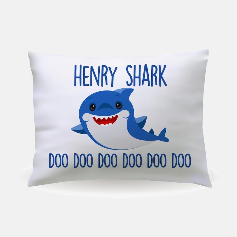 8966c010e55 Personalized Baby Shark Pillowcase - gift room decor custom
