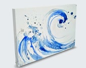 The droplet painting - high quality print (Canvas or photopaper)