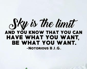 The Sky Is The Limit Etsy