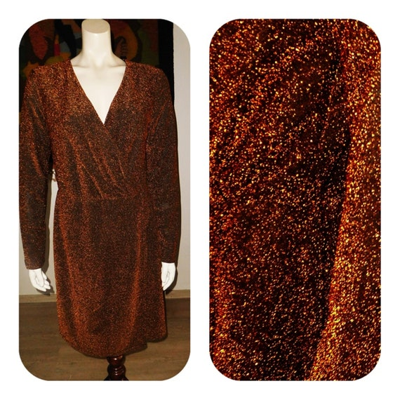 Lurex Elegant Formal Dress/for Lady/XL  Dress/Glam