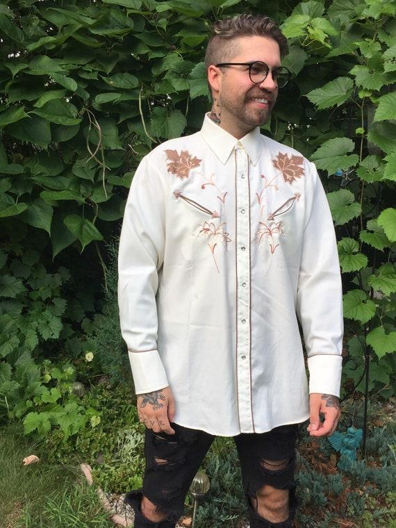 Vintage Men's Western Shirt Miller Western Wear De