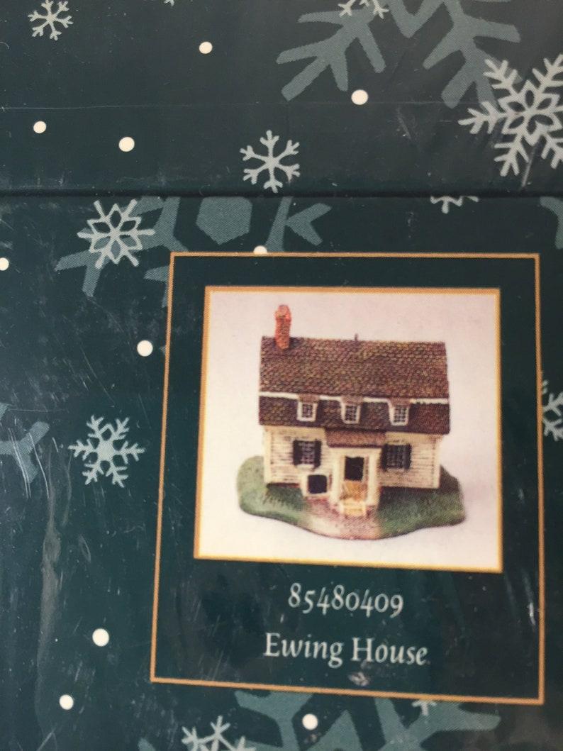 Colonial Williamsburg Christmas.Colonial Williamsburg Christmas Tree Ornament Miniature Village Houses Ewing House