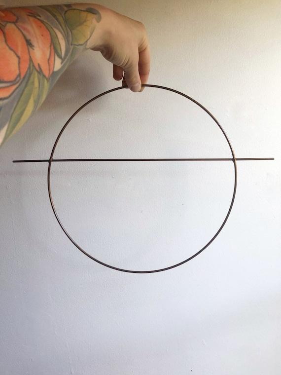 "2 x 8/"" Copper Colour Dreamcatcher//Macrame Craft Hoop//Ring /& Free Cotton Cord"