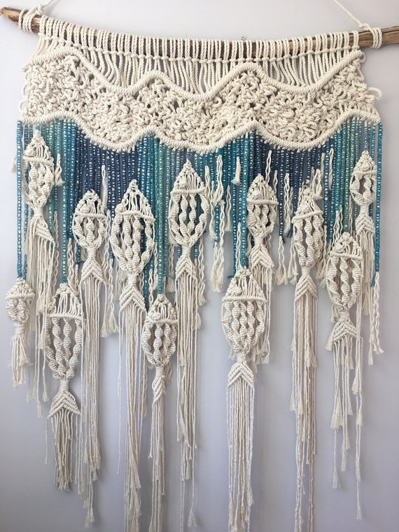 Macrame Fish Wall Hanging