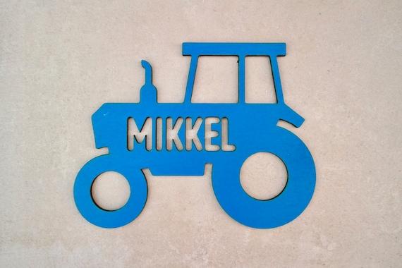Individuelles Traktor Turschild Holz Kinderzimmer Etsy