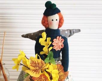 "Tilda doll ""Pumpkin"""