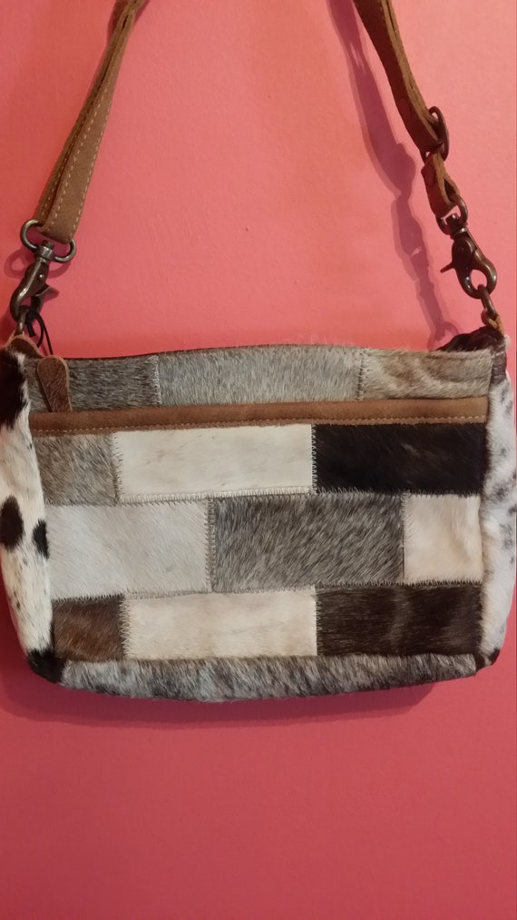 Myra Bag Brique Crossbody Cowhide Bag Etsy Find many great new & used options and get the best deals for myra multi patch cowhide tote with item 5 color clash 100% genuine cowhide leather ladies handbag tote purse shoulder bag 5. etsy