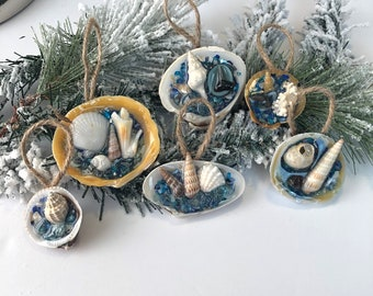 Mini Christmas ornament set