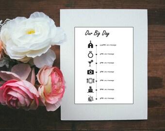 wedding infographic etsy