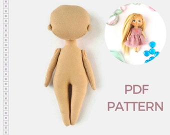 image about Printable Rag Doll Patterns known as Rag doll behavior Etsy