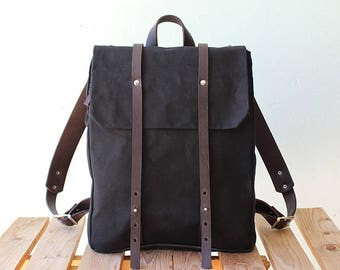 Canvas backpack women  f8d11c0a1f21d