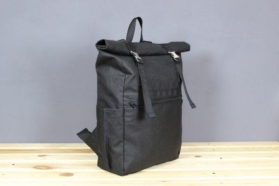 """Men/'s Genuine Leather Large Backpack Hiking Laptop Messenger Bag Light Weight15/"""""""