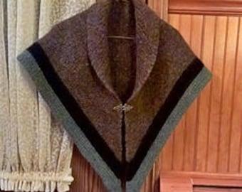 Outlander Inspired  Triangle Shawl