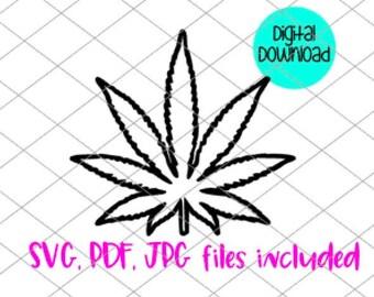 Marijuana SVG files