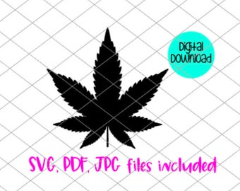 Marijuana SVG files