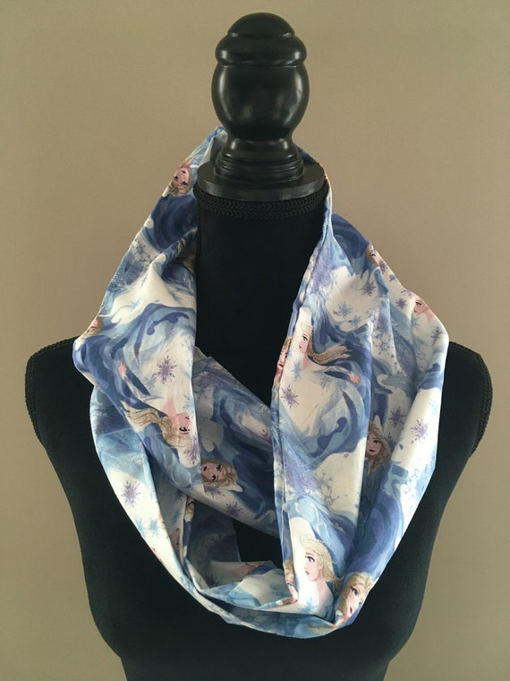 Disney Frozen Infinity Scarf with Princess Elsa and Anna