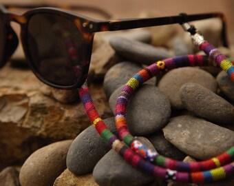 1b3f0e490ec4 Ethnic Sunglass Straps Eyeglass Lanyards Ethnic Cord Eyeglass Straps Sunglass  Retainers Eyeglass Holders Sunglass Croakies Eyeglass Loops