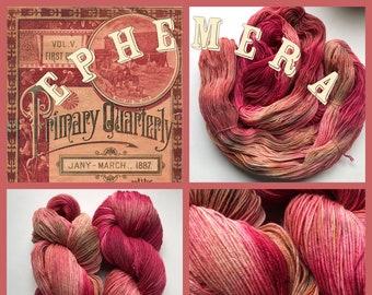 Ephemera Handpainted Yarn