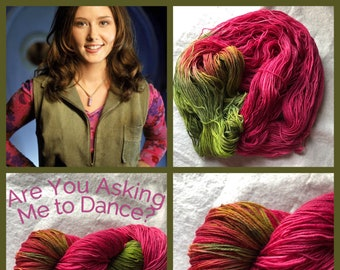 Are You Asking Me to Dance? Handpainted Yarn