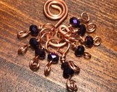 Copper and Crystal Stitch...
