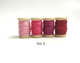 0.8mm Polyester Waxed Thread Vibrant Colour Thread for Hand Sewing Leather