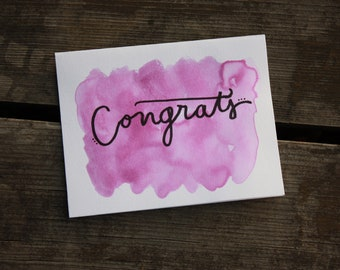 Congrats Greeting Cards (pack of 9)