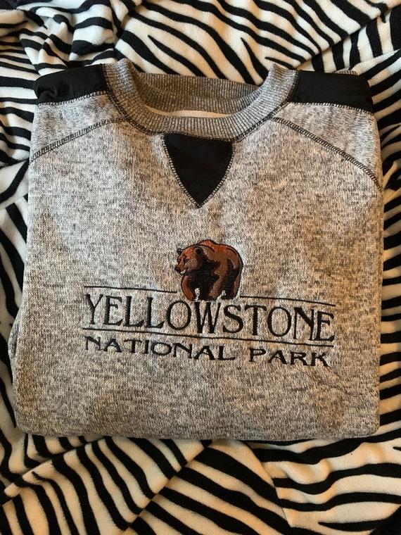 Vintage YellowStone National Park Crewneck