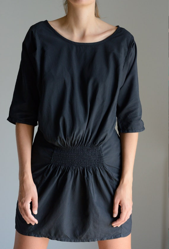 Dolman sleeve MM6 dress in black
