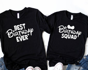 Disney Birthday Shirt Best Ever Group Shirts Broke Squad