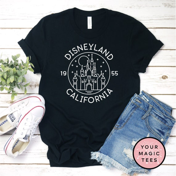 Disneyland Shirt, Disney Castle Shirt, California Adventure Shirt, Kids Disney Shirt, Youth Shirt, Cute Disney Shirt, Unisex Disney Shirt by Etsy