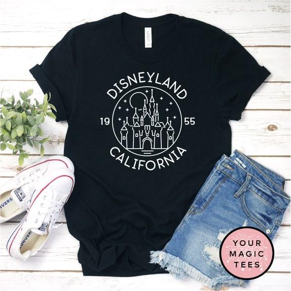 Disneyland Shirt, Disney Castle Shirt, California Adventure Shirt, Kids Disney Shirt, Youth Shirt, Cute Disney Shirt, Unisex Disney Shirt by Etsy