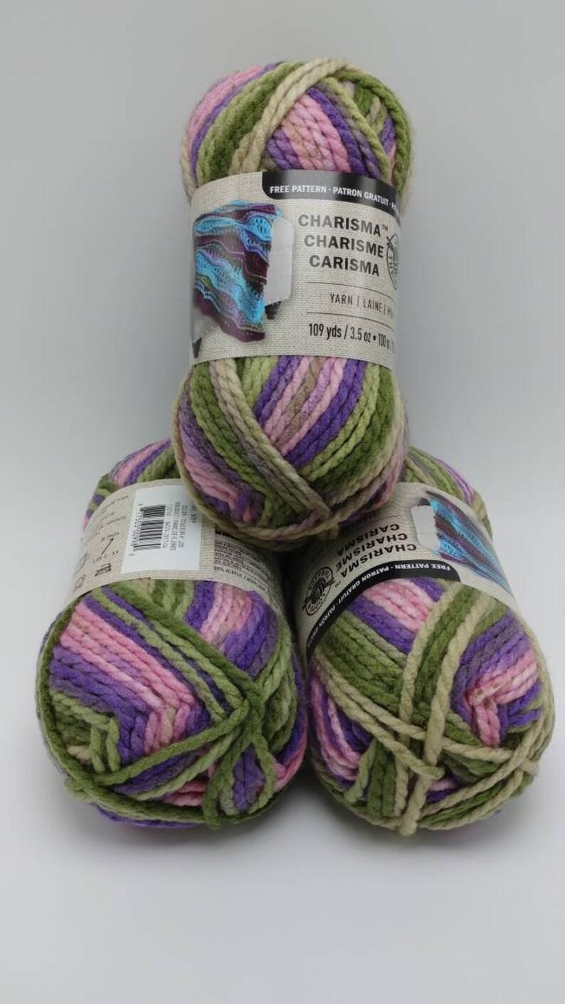 BOUQUET Charisma Yarn by Loops & Threads - Bulky #5 - 109 yds / 3 5 oz -  Acrylic