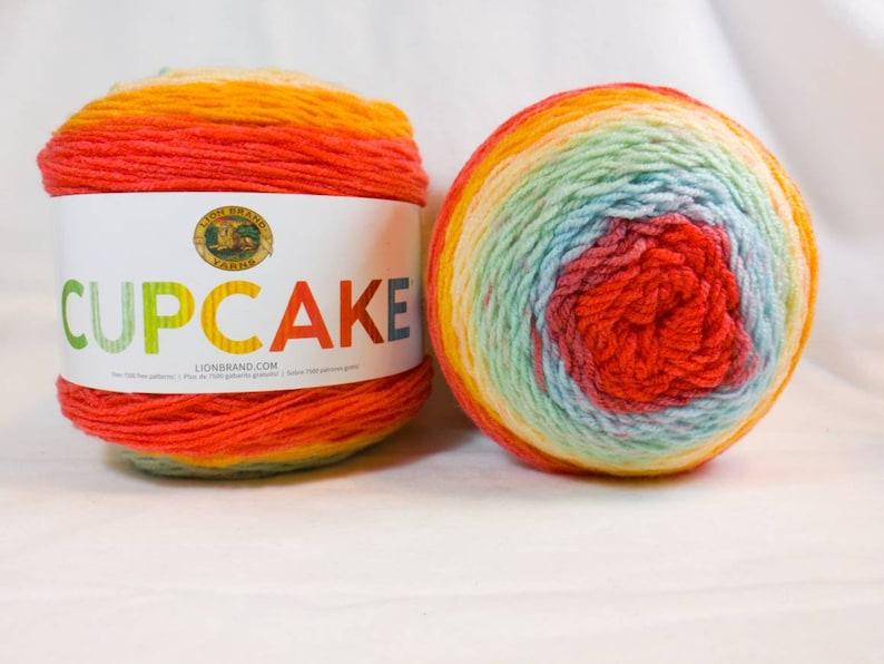 Beach Ball Cupcake Yarn By Lion Brand 3 Dk Light Worsted Etsy
