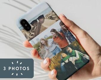Photo Upload iPhone Case - 3 Photos - iPhone 11 - iPhone X - iPhone XS - iPhone XR - iPhone 8/7/6/SE 2020, Photo Gift