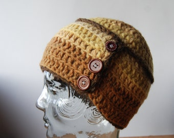 Shetland Wool Hat - naturally dyed 19f3e0c4c68